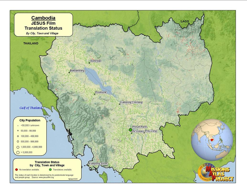 Cambodia - WORLDMAP.ORG