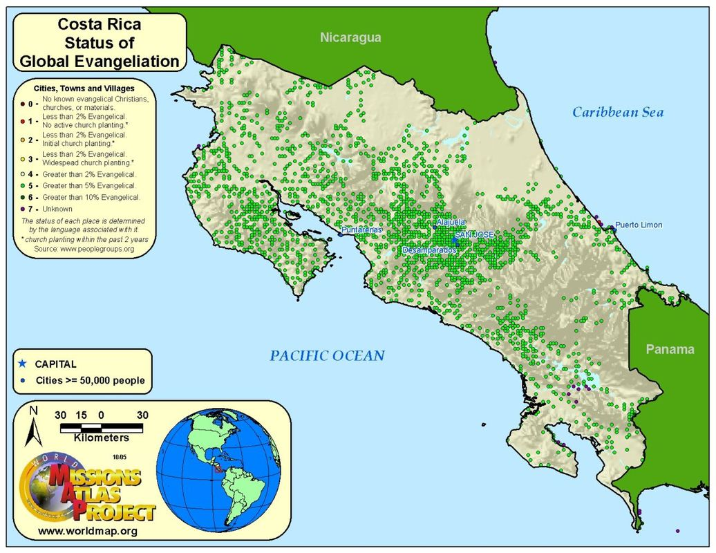 Costa Rica - WORLDMAP.ORG