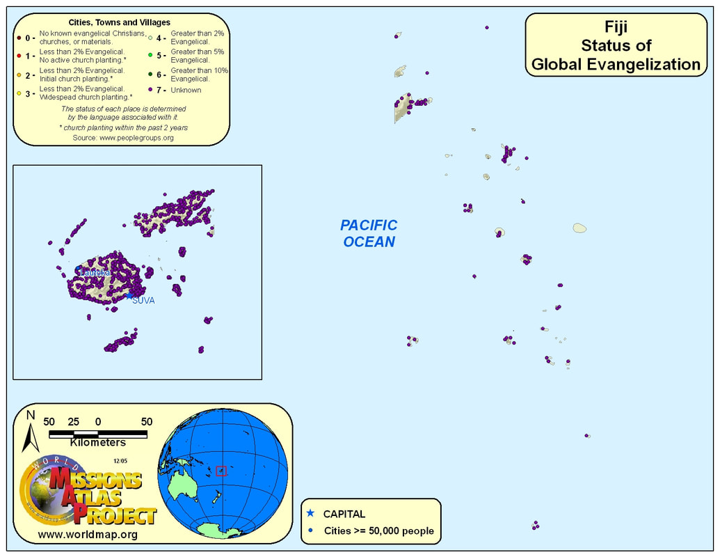 Fiji Worldmap Org