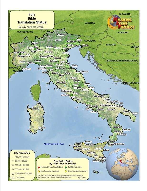Italy - WORLDMAP.ORG